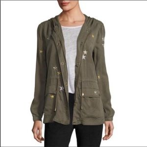 Bagatelle Star Embroidered Utility Jacket